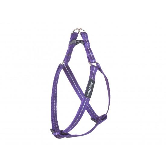 Regulējama Krūšu siksna suņiem Violet Reflective size S