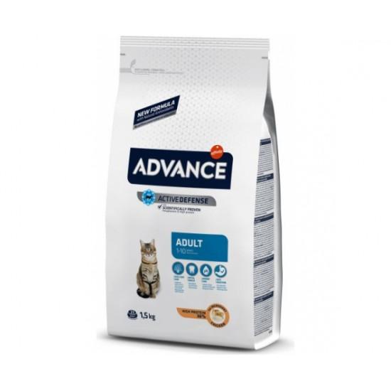 Advance Cat Pilnvertīga sausā barība kaķiem ar vistas gaļu 15kg