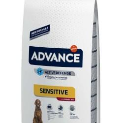 ADVANCE Adult Lamb & Rice 12kg Barība alerģiskiem suņiem ar jēra gaļu un rīsiem