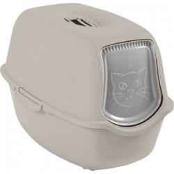 Bailey Cat Toilet tualete ar jumtu (Kapučīno)