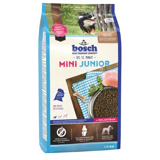 Bosch MINI JUNIOR barība mazu šķirņu (līdz 15kg) kucēniem, 1 kg