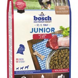 Bosch Junior ar jēra gaļu un rīsiem sausā barība kucēniem, 3 kg