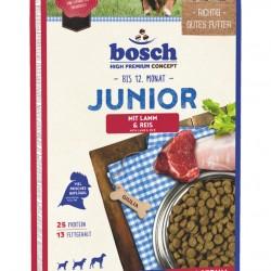 Bosch Junior ar jēra gaļu un rīsiem sausā barība kucēniem 15 kg