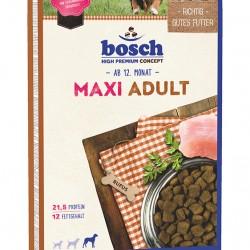 Bosch Maxi Adult 15kg Sausā barība lielu šķirņu pieaugušajiem suņiem