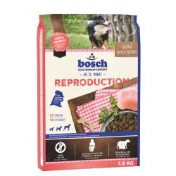 Bosch Reproduction Sausā barība grūsnam (no 5. nedēļas) un laktējošām kucēm  7,5 kg