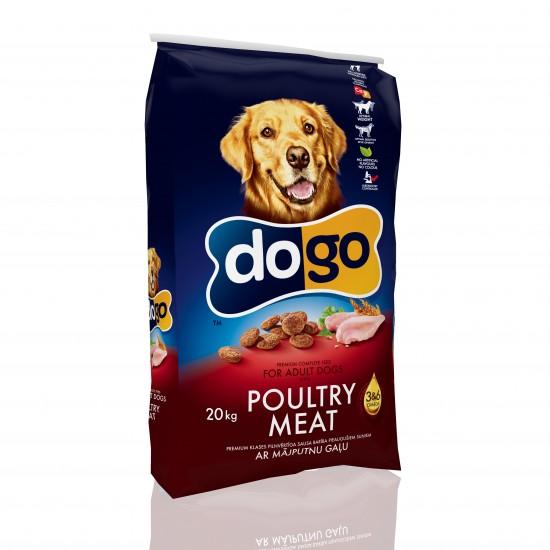 DOGO ar mājputnu gaļu 20kg