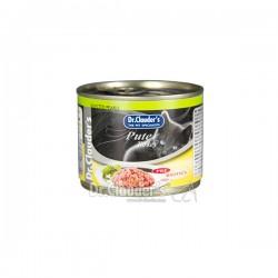 Dr.Clauders konservi kaķiem ar tītara gaļu 200gr