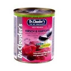Dr.Clauders konservi suņiem Briedis un kartupeļi 800gr