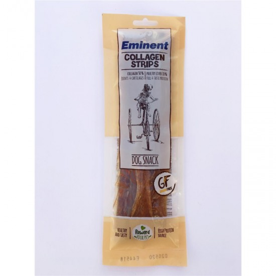Gardums suņiem Eminent Collagen Strips 50% kolagēns Grain Free