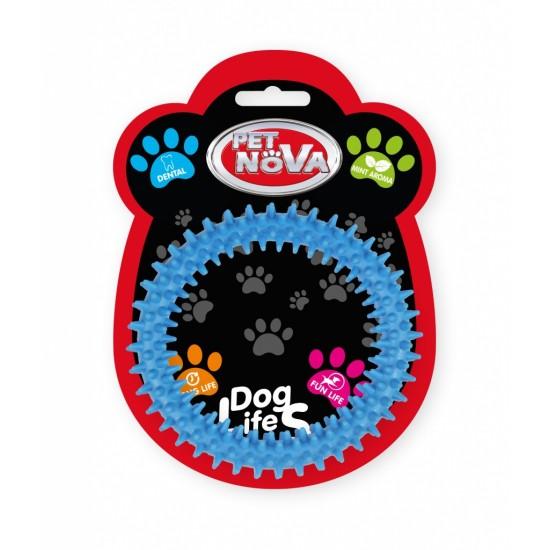 DOG LIFE STYLE Zobu riņķis, rotaļlieta suņiem