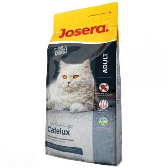 JOSERA SUPER PREMIUM CATELUX Pilnvērtīga Super Premium sausā barība kaķiem 10kg