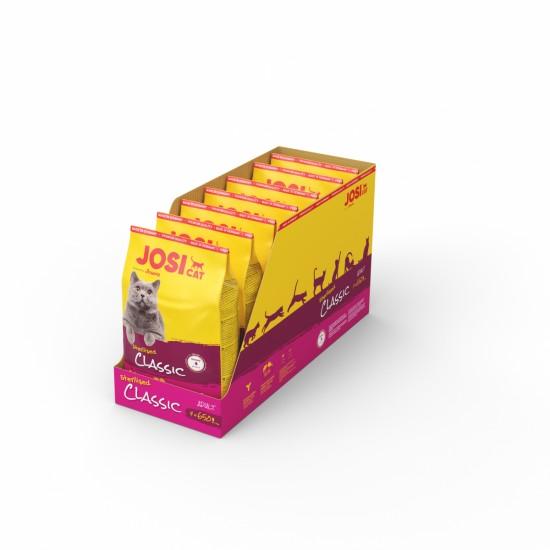 Josera Cat Classic 650gr sausā barība kaķiem ar lāsi