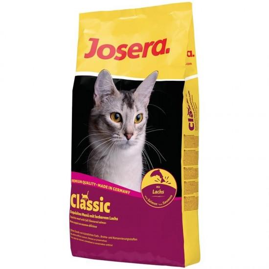 Josera Cat Classic 10kg sausā barība kakiem ar lāsi