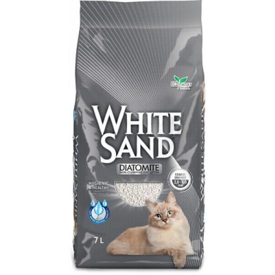 Necementējošas kaķu smiltis D110 Diatomite 7L