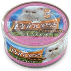 PRINCESS PREMIUM CLASSIC 170GR ar vistu, tunci, rīsiem un garnelem