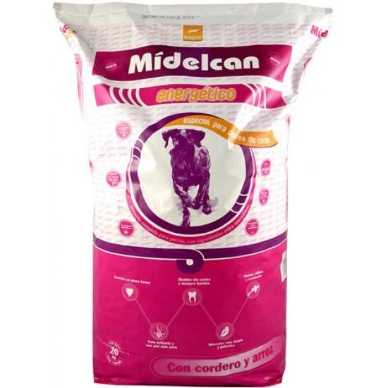 Midelcano Energy Pilnvertīga barība pieaugušiem un aktīviem suņiem ar vistas gaļu 20kg