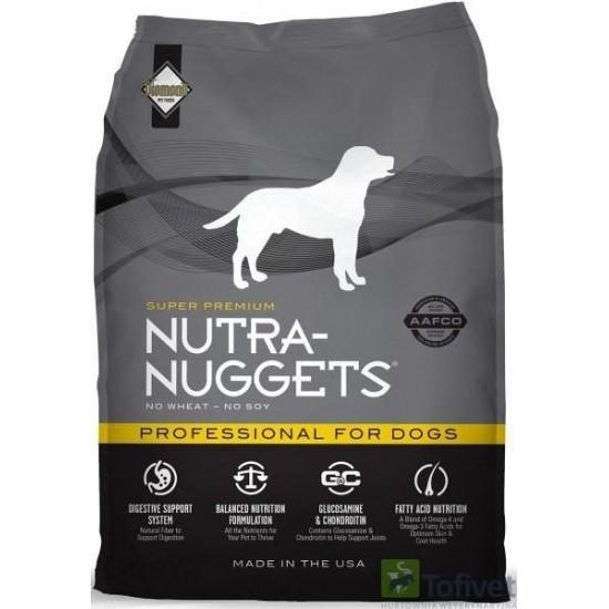 Nutra Nuggets Professional 18kg Barība pieaugušiem suņiem ar paaugstinātu aktivitāti