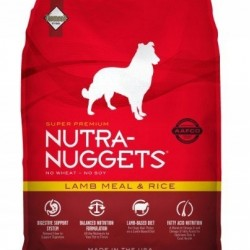 Nutra Nuggets Lamb&Rice 18kg