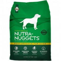 Nutra Nuggets Performance 15 kg Barība pieaugušiem suņiem ar normālu un augstu aktivitāti