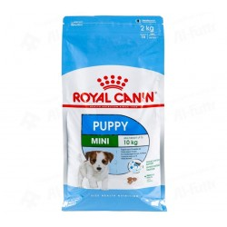 Royal Canin Puppy Mini 2kg Speciāli mazo šķirņu suņu kucēniem