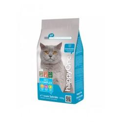 Happy One Cat Bio Complex Esterilizados Sterilizētiem kaķiem ar Vistas un lāša gaļu 10kg
