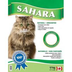 SAHARA kaķu smiltis bez aromāta 17 kg