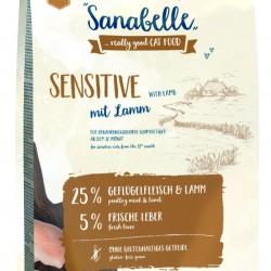 Sanabelle Sensitive Lamb 10kg Pilnvertīga sausā barība jutīgiem kaķiem ar jēra gaļu