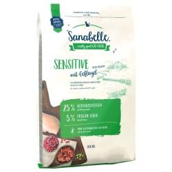 Sanabelle Sensitive Poultry sausā barība kaķiem ar mājputnu gaļu 10 kg