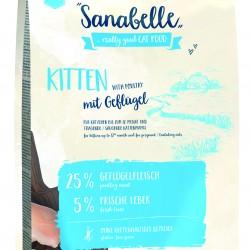 Sanabelle Kitten 2kg Pilnvertīga sausa barība kaķēniem līdz 1 gadam