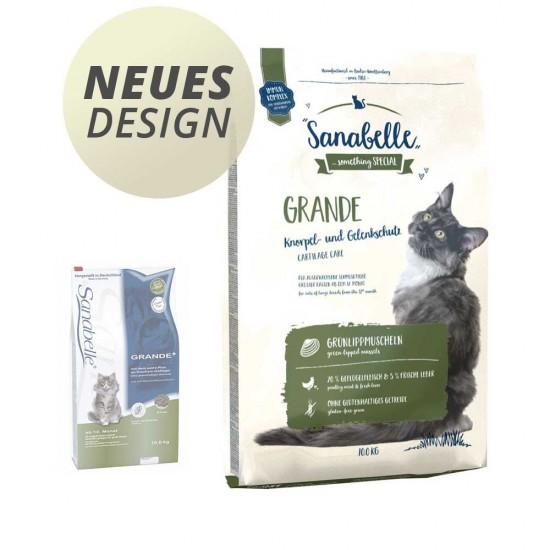Sanabelle Grande Pilnvērtīga barība pieaugušiem, lielu šķirņu kaķiem, bez glutēna 10kg