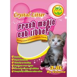 Crystal Litter Silica gel smiltis kaķu tualetēm 3.8l