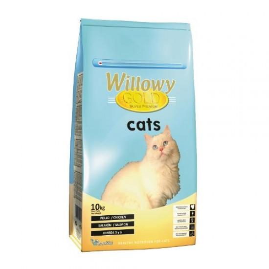 Willowy Gold Cat 10kg Pilnvertīga sausā barība kaķiem
